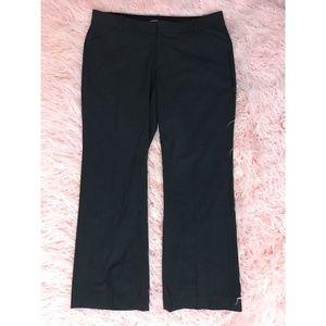 Gap Curvy Fit Dark Gray Flat Front Trousers